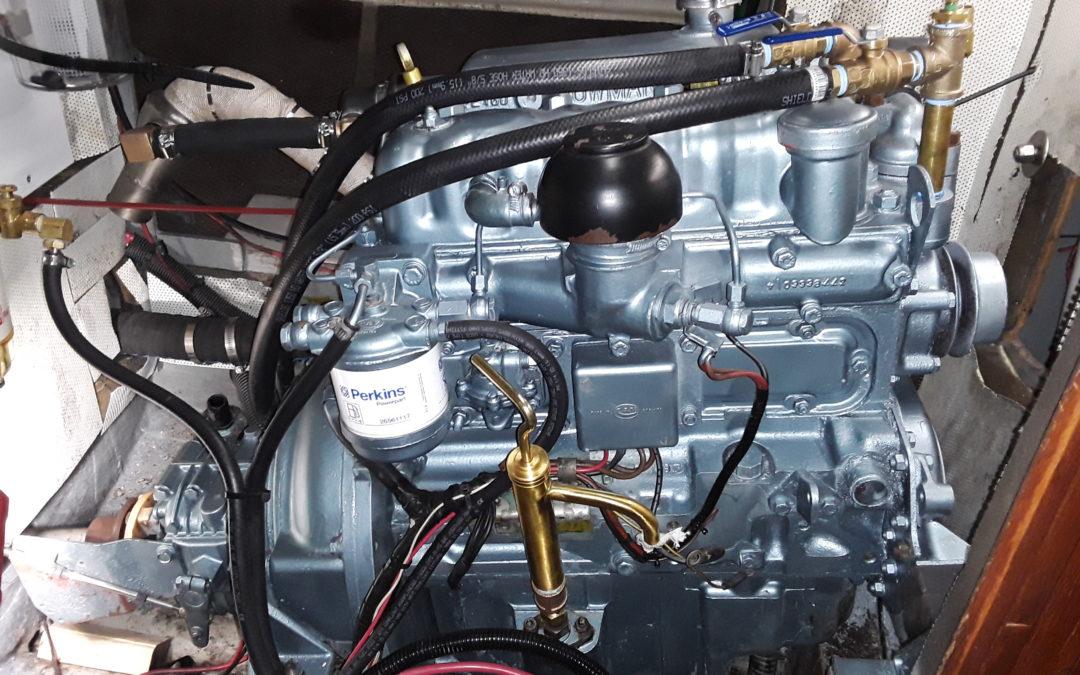 NorEast Marine Systems – 1970's Refurbished Perkin 4108 Engine
